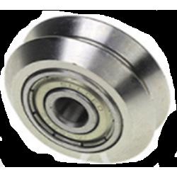Metalen V-Slot wiel, V-vorm...